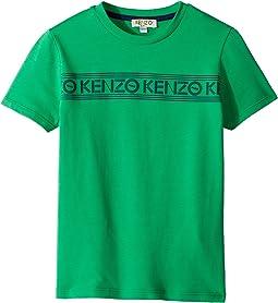 Kenzo Kids Tee Shirt Logo (Toddler/Little Kids)
