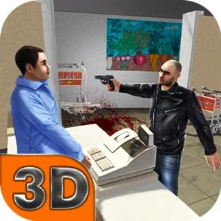 Market Gangster Escape: Supermarket Mania Burglary Simulator   Shop Runner Criminal Case Thief Simulator   Gangster Escape Robber Simulator