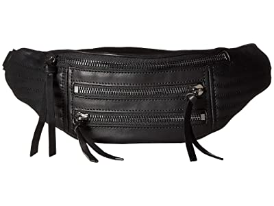 Botkier Moto Belt Bag (Black) Handbags