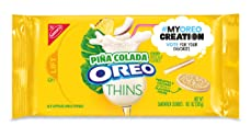 Oreo Thins Pina Colada Sandwich Cookies - My Oreo Creation, 10.1 Oz