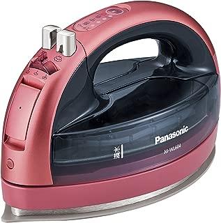パナソニック コードレススチームWヘッドアイロン ピンク NI-WL604-P