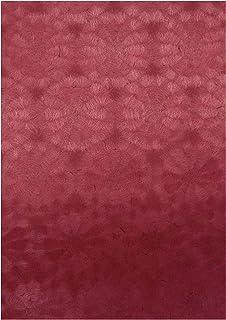 紙TO和 御朱印用書置き用紙 (1セット100枚入) 菊花 濃色 (海老茶)(単ページサイズ)
