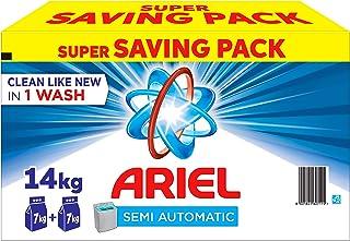 Ariel Laundry Powder Detergent Original Scent, 2 x 7 kg