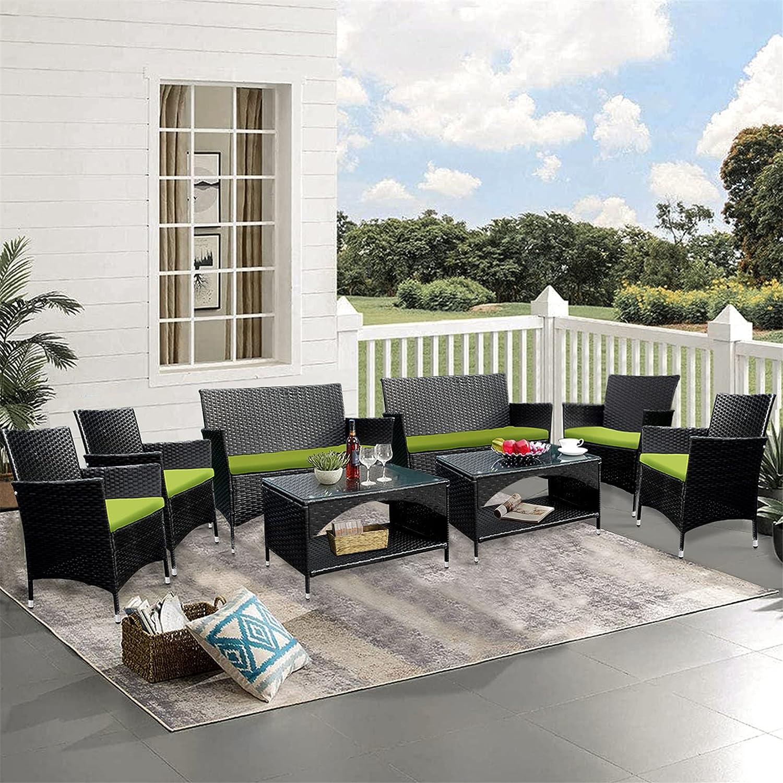 Harper Bright Designs 8 PCS 新作販売 Dining Outdoor Rat Patio 人気ブランド多数対象 Set