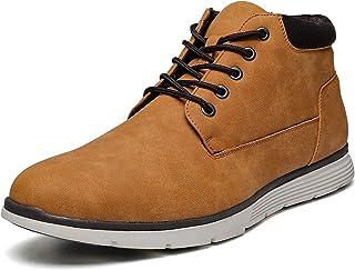 أحذية تشوكا من AMAPO للرجال كلاسيك جلدية بأربطة أحذية رجالية أحذية كاجوال مريحة للعمل للرجال أحذية خفيفة المشي أحذية رجالي...