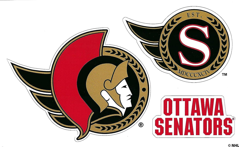 Ottawa Senators NHL Die Sales for sale Weekly update Cut Sheet 3 Magnet Team Set