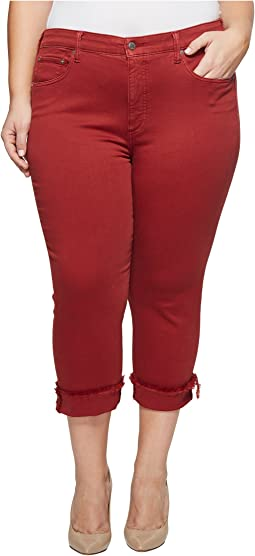 Plus Size Emma Crop Jeans in La Cara