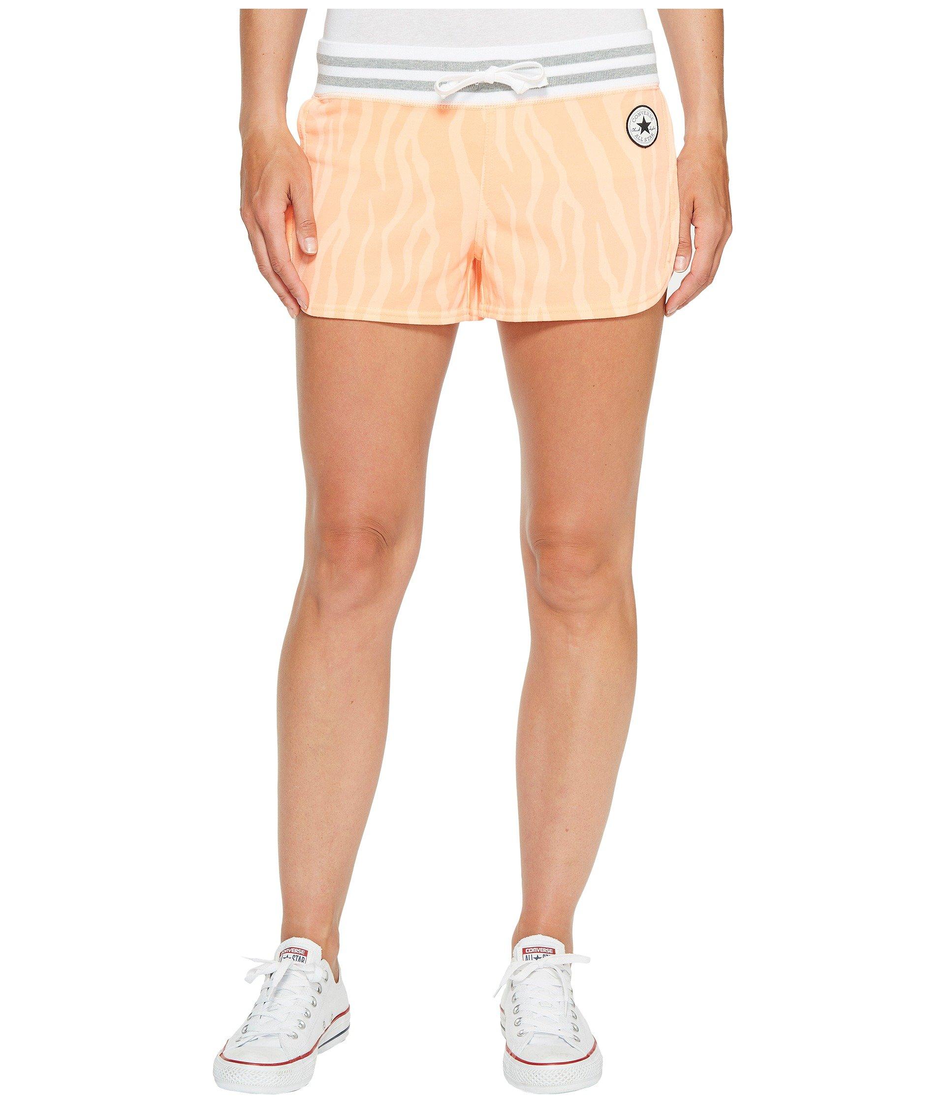Pantalón Corto para Mujer Converse Mesh Paneled Track Shorts  + Converse en VeoyCompro.net