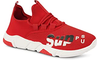 Camfoot Men's (9349) Red Casual Sports Running Shoes