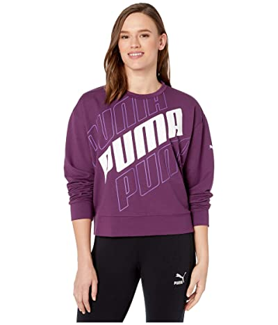 PUMA Modern Sport Crew Sweatshirt (Plum Purple) Women