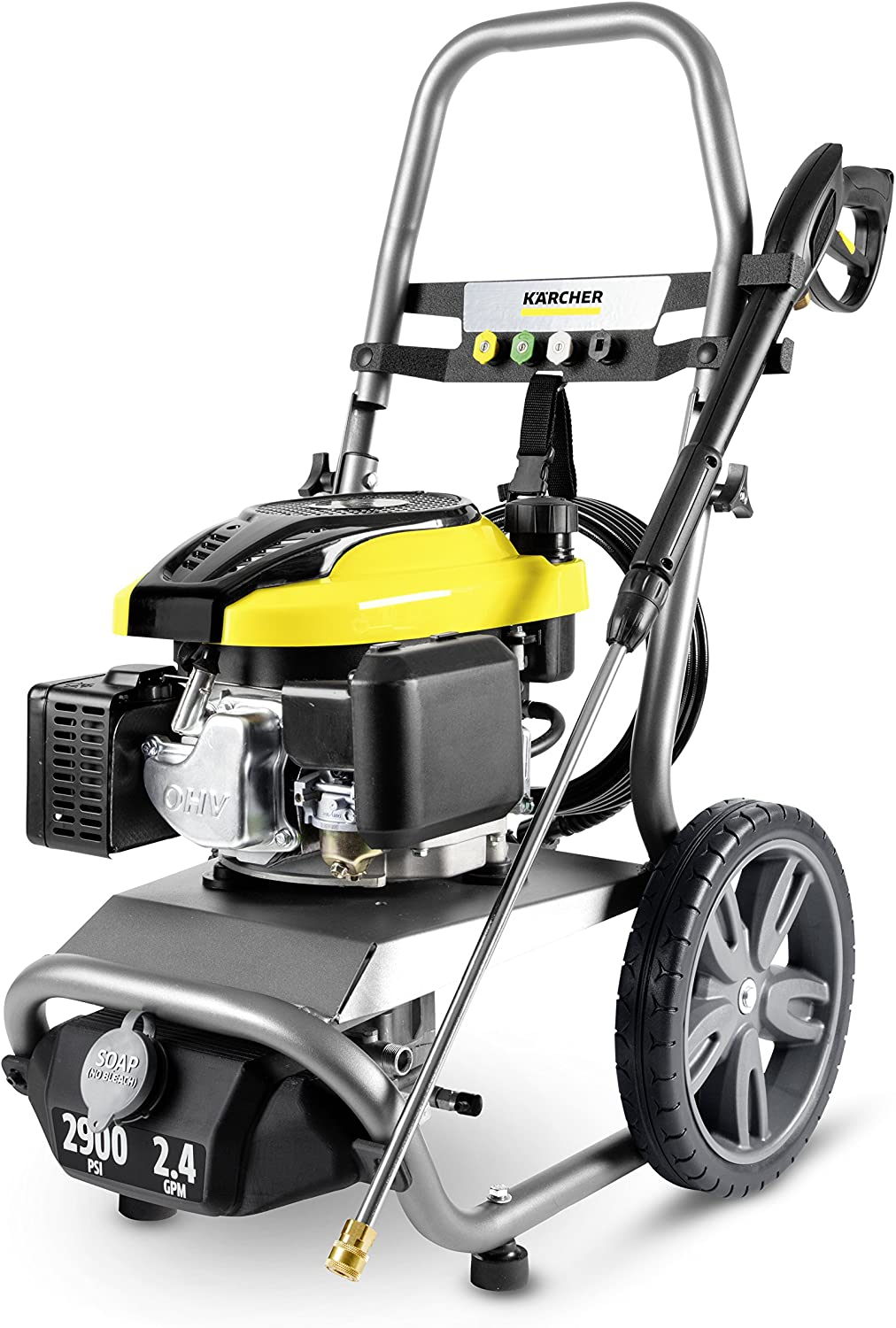 Karcher 11073840 Credence G2900X NEW before selling ☆ Gas Powered Washer Gray Pressure Yellow