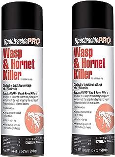 SpectracidePRO Wasp & Hornet Killer (Aerosol) (HG-30110) (18 oz) -2 Pack