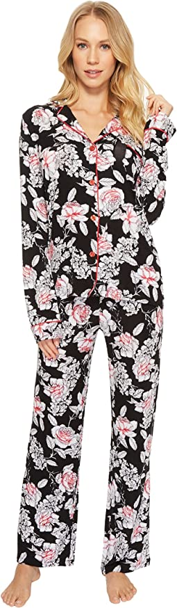 Rock 'N Rose Floral PJ Set