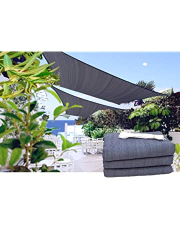Velas de sombra para patio   Amazon.es