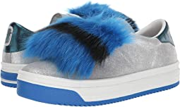 Empire Multicolor Sole Sneaker with Faux Fur