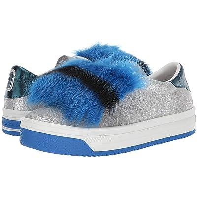 Marc Jacobs Empire Multicolor Sole Sneaker with Faux Fur (Silver Multi) Women