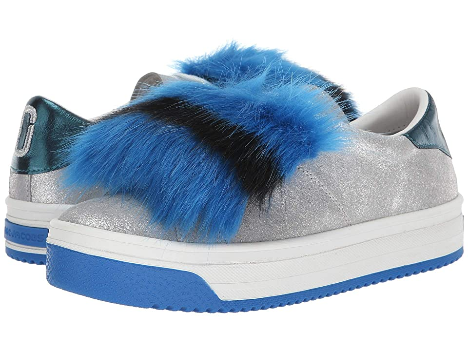 Marc Jacobs Empire Multicolor Sole Sneaker with Faux Fur (Silver Multi) Women