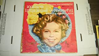 Original Film Soundtracks More Little Miss Wonderful Shirley Temple Hits