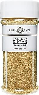 India Tree Vanilla Sugar, 6.3 Ounce