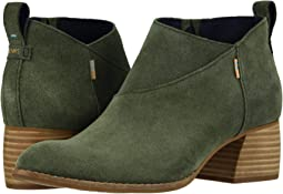 Dusty Olive Suede