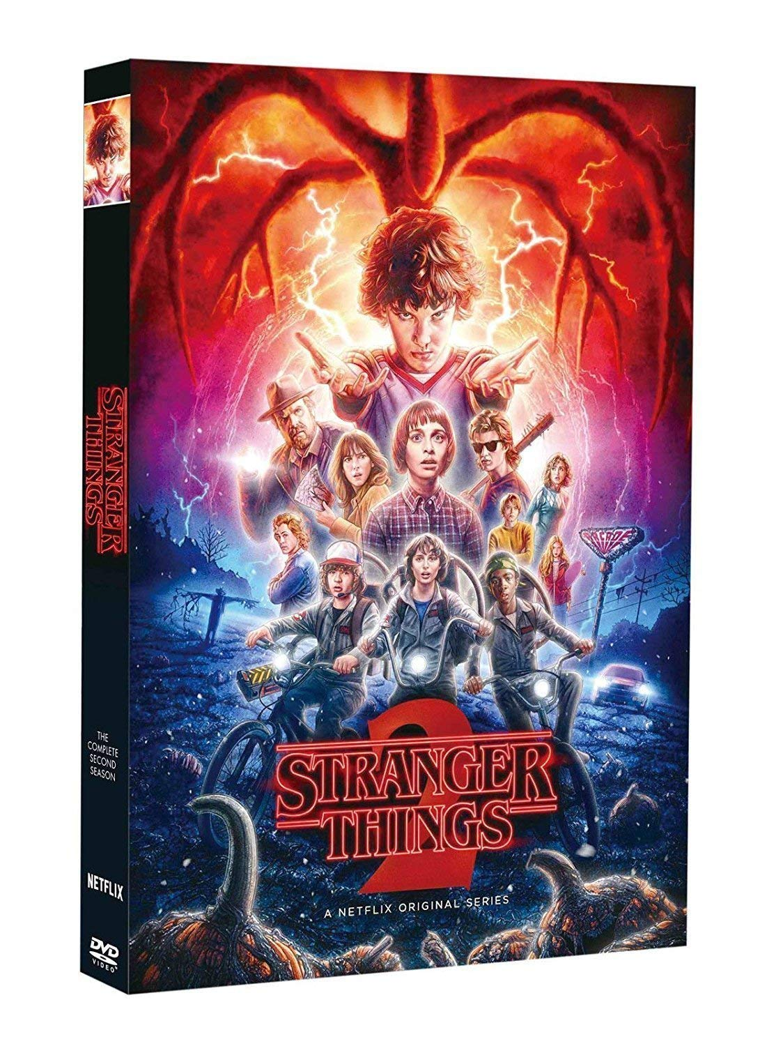 Stranger Things Season Limited time cheap sale 2 DVD NEW before selling ☆ 2017 3-Disc