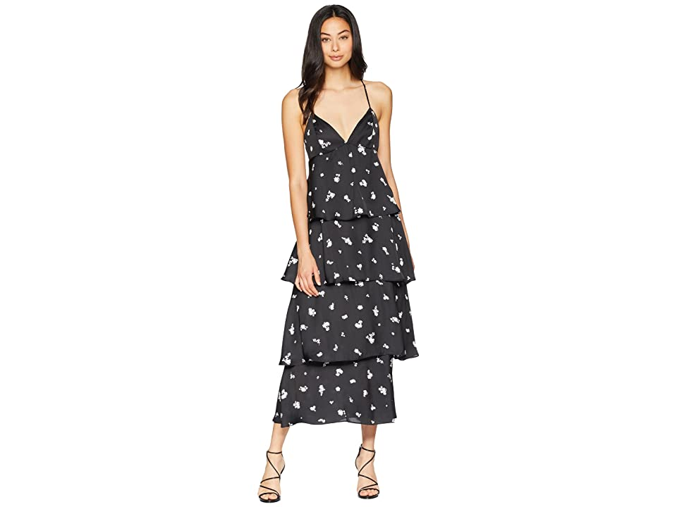Bardot Dalia Tiered Dress (Midnight) Women
