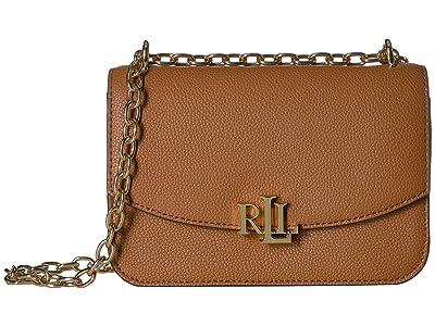 LAUREN Ralph Lauren Elmswood Madison 22 Crossbody (Lauren Tan) Handbags