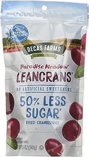Paradise Meadow Premium Dried Cranberry Leancrans, 5 Ounce