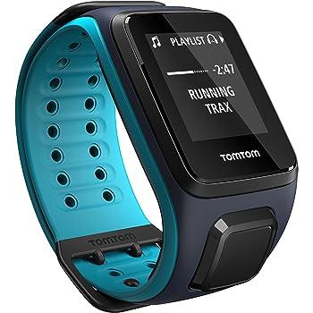TomTom Runner2 Music- Reloj deportivo con música, color turquesa / azul, talla grande: Amazon.es: Deportes y aire libre