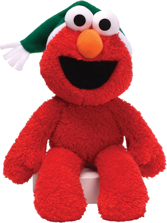 GUND Sesame Street Seasonal Elmo Luxury Buddy Take 12