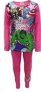 Marvel Comics Superheroes Pijama de niña