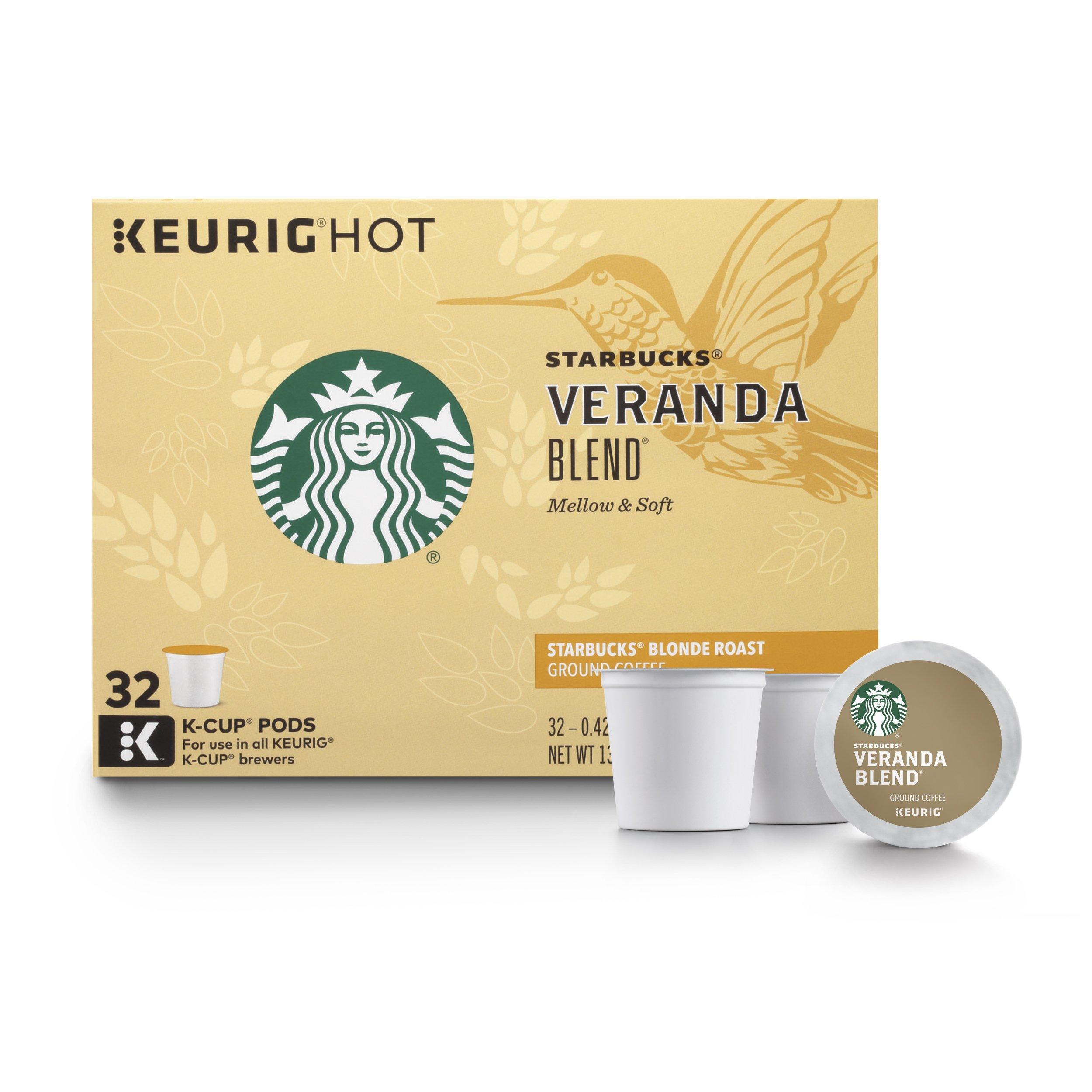 Starbucks Veranda K cup Coffee