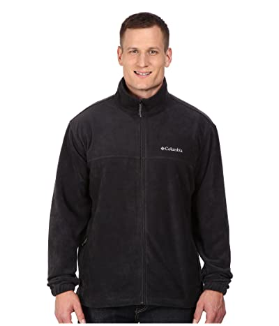 Columbia Big Tall Steens Mountaintm Full Zip 2.0 Jacket (Black) Men