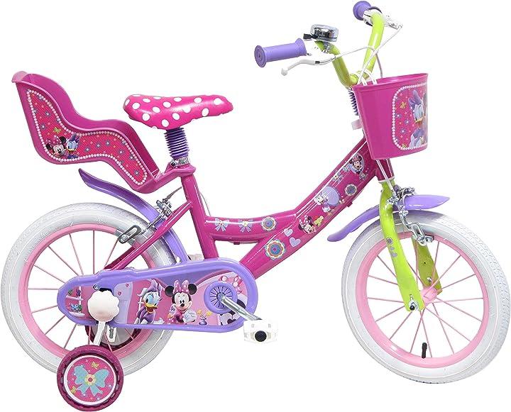 Bicicletta bambina disney 13127 - 14