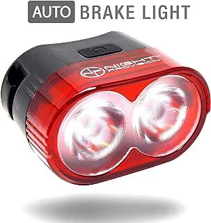 Proton R60 Smart Bike Tail Light Motion Sensing Rear Bicycle Brake Lights Auto On/Off Taillight USB Rechargeable Fit's All Bikes Aero Road Bike Mountain Bike BMX