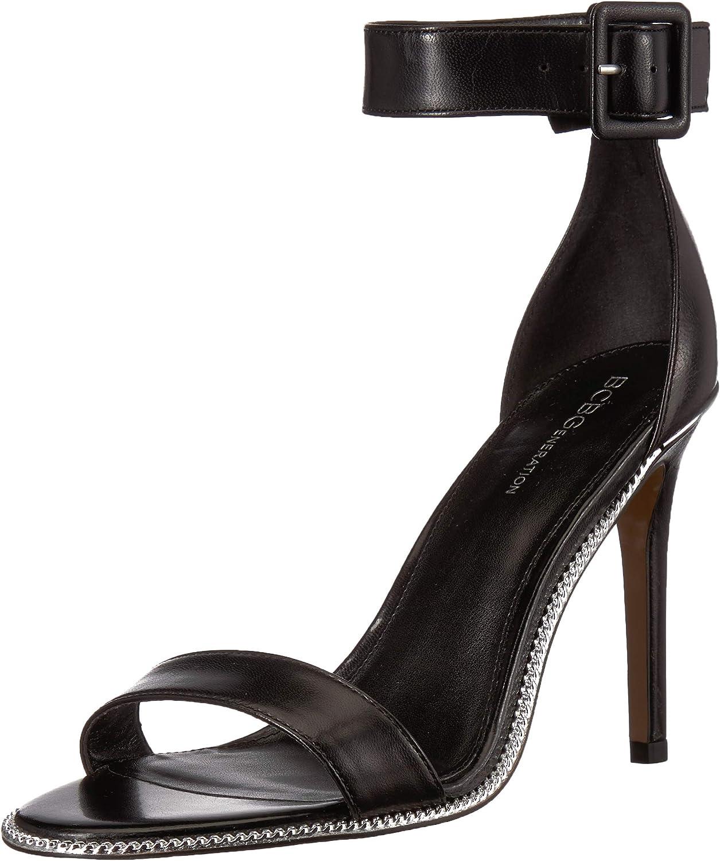 BCBGeneration Womens Janet Two Piece Sandal Heeled Sandal