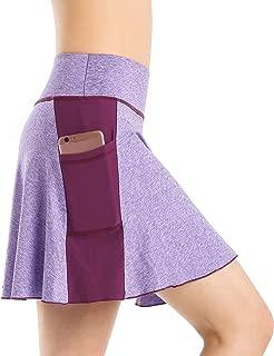 Nidalee Women's Tennis Golf Skort Active Athletic Sports Running Skirt with Pocket