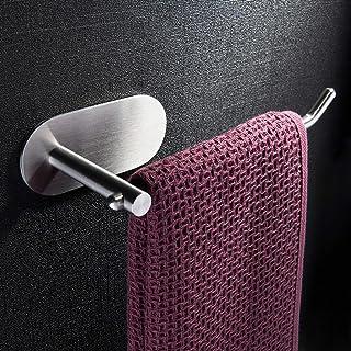 Zunto Porte-rouleau de papier toilette sans perçage, autocollant, porte-papier toilette en acier inoxydable