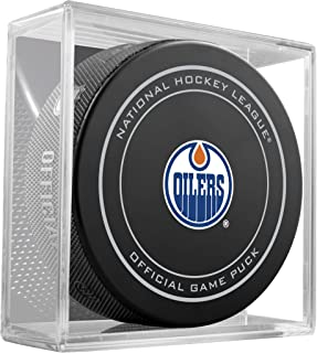 NHL Edmonton Oilers Official Game Puck