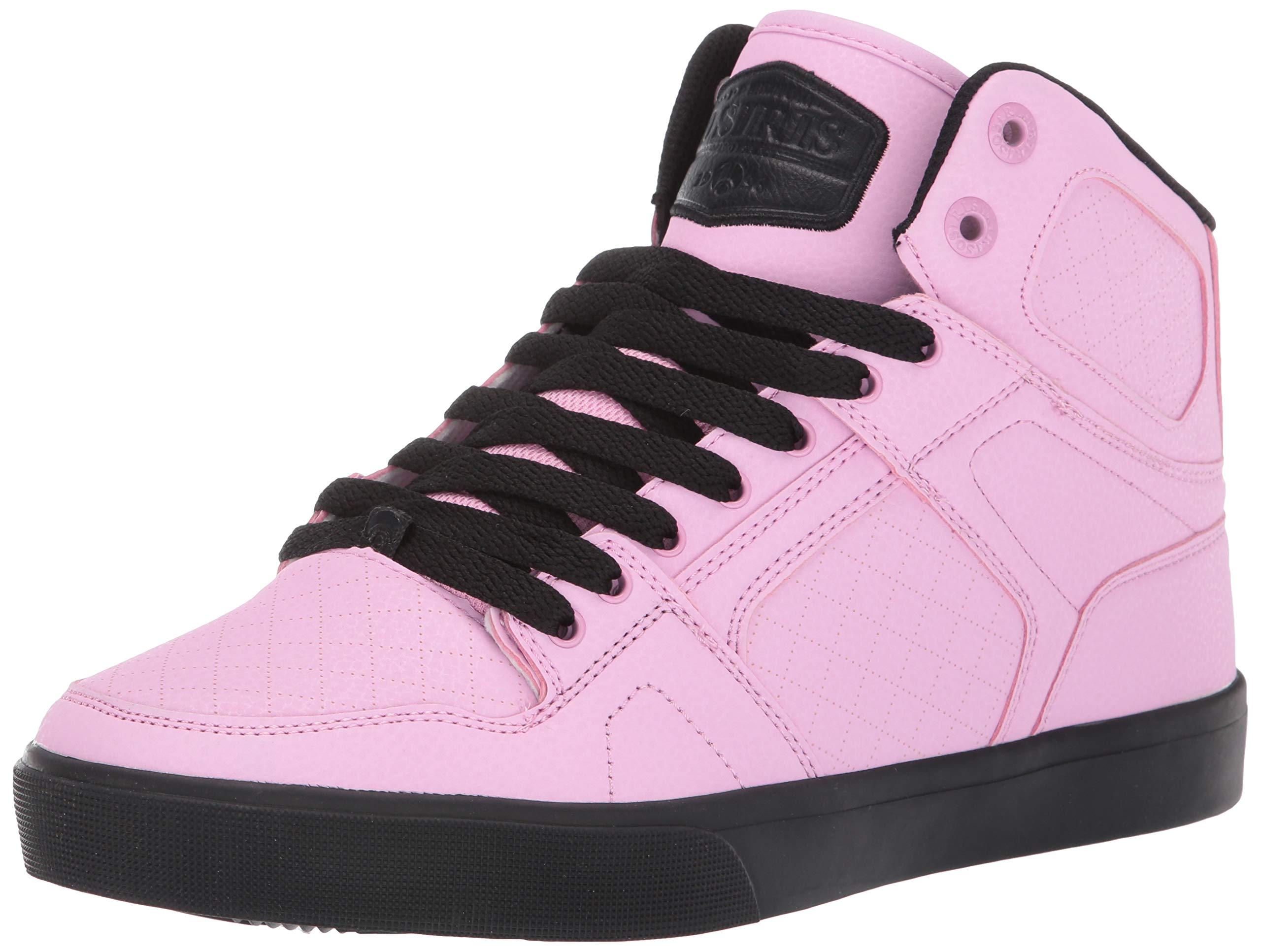 Osiris Mens Shoe Pink Black