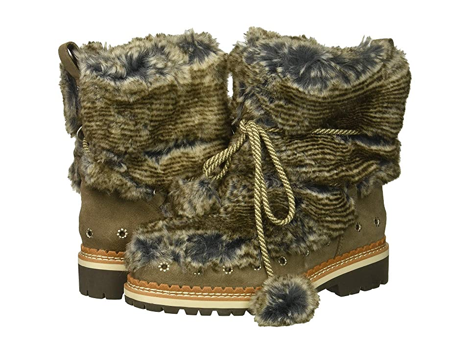 Sam Edelman Blanche (Grey Multi/Flint Grey Alpine Fur/Velutto Suede Leather) Women