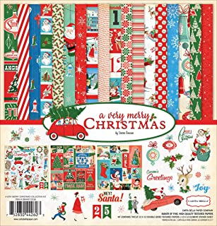 Carta Bella Paper Company Merry Christmas Collection Kit