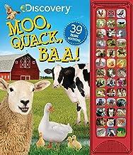 Discovery: Moo, Quack, Baa! (39-Button Sound Books)