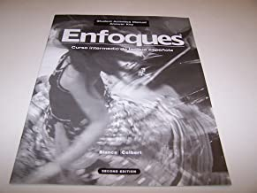 enfoques student activities manual answer key