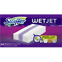 Swiffer Wetjet Hardwood Mop Pad Refills for Floor Mopping and Cleaning (24-Count)