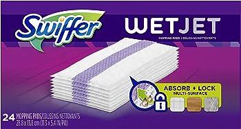 24-Count Swiffer Wetjet Hardwood Mop Pad Refills