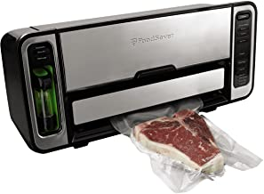FoodSaver FM5860 Vacuum Sealer Machine with Express Bag Maker & Auto Bag Dispense and Rewind   UL Safety Certified   Silver