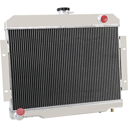 72-86 Jeep CJ Series 3 Core//Row Light Aluminum Performance Cooling Radiator