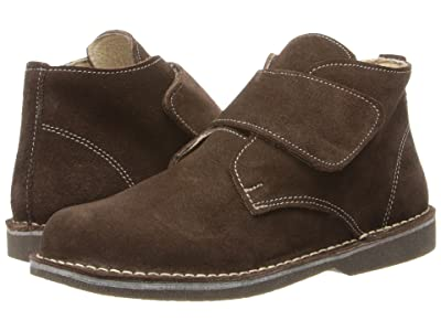 Kid Express Maddox (Toddler/Little Kid/Big Kid) (Dark Brown Suede) Boy