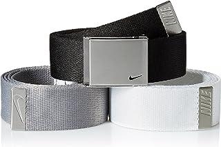 Nike mens 3 Pack Golf Web Belt